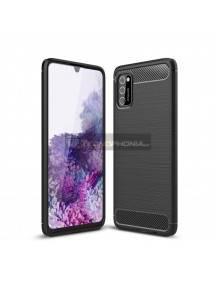 Funda TPU Carbon Tech-Protect Samsung Galaxy A40 A405
