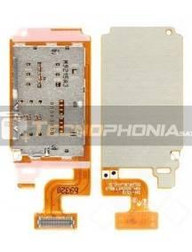 Cable flex de lector de SIM + micro SD Samsung Galaxy Tab A 2019 10.1 4G LTE T515