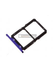 Zócalo de SIM Huawei Nova 5T - Honor 20 azul