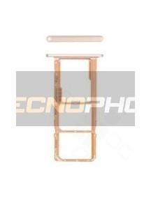 Zócalo de SIM Huawei Y5 2019 marrón