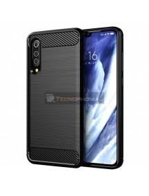 Funda TPU Carbon Xiaomi Mi 9 Pro negra