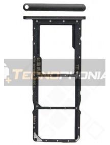 Zócalo de SIM Huawei Y7 2019 negro