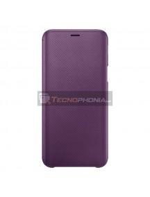 Funda libro Samsung EF-WJ600CEE Galaxy J6 2018 J600F púrpura