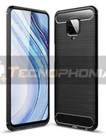Funda TPU carbon Xiaomi Redmi Note 9 Pro - Note 9 Pro Max - Note 9s negra