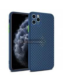 Funda TPU Breath Samsung Galaxy A41 A415 azul marino