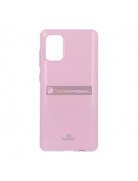 Funda TPU Goospery Samsung Galaxy A71 A715 rosa