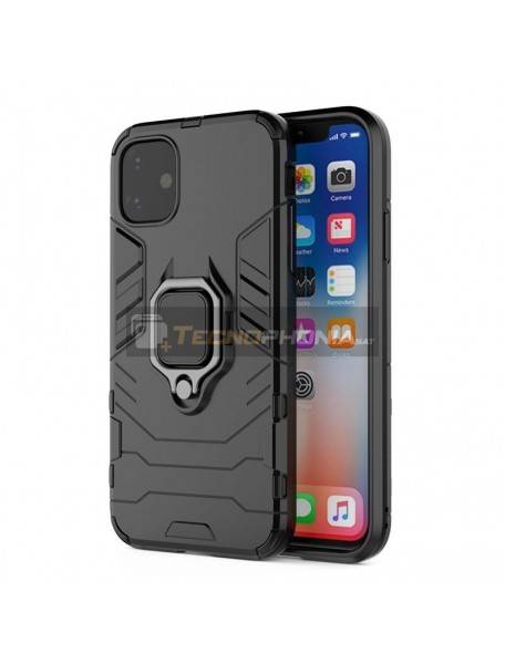Funda TPU Armor Ring Samsung Galaxy A41 A415 negra