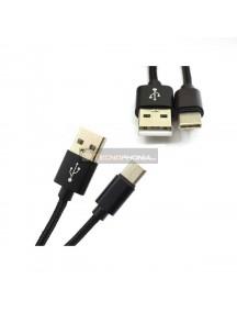 Cable Type-C ATX con cabeza más larga de 8mm negro