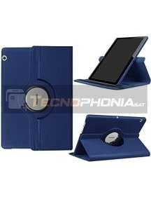 "Funda rotatoria Huawei Mediapad T3 10"" azul"