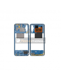 Carcasa intermedia Samsung Galaxy A50 A505 azul