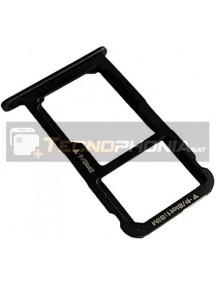Zócalo de SIM + micro SD Huawei Ascend P8 Lite 2017 negro