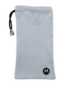 Funda - bolsa Motorola V8 SYN2282A terciopelo gris