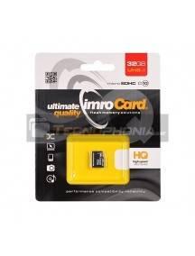 Tarjeta de memoria micro SD Imro 32GB UHS I clase 10