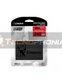 "Disco duro interno SSD Kingston 240GB SA400 2.5"" 7MM SA400S37/240G"