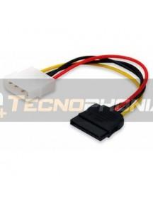 Cable de alimentación Gembird Molex a SATA 0.2m