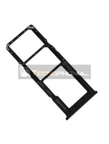 Zócalo de SIM + micro SD Samsung Galaxy A21s A217 negro