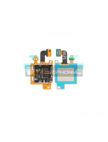 Cable flex de lector de SIM + tarjeta de memoria Micro SD Samsung Galaxy Tab S6 10.5 T865