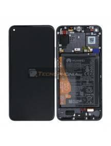Pantalla LCD display Huawei Nova 5T - Honor 20 negra original (Service Pack)
