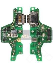 Placa de conector de carga Motorola G8 Plus (Service Pack) original