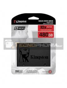 "Disco duro interno SSD Kingston 480GB SA400 2.5"" 7MM SA400S37/480G"