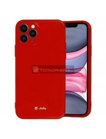 Funda TPU Jelly iPhone 12 Pro Max roja