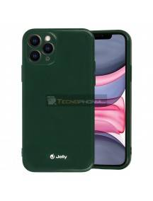Funda TPU Jelly iPhone 12 - 12 Pro verde