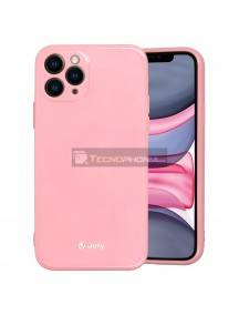 Funda TPU Jelly iPhone 12 - 12 Pro rosa