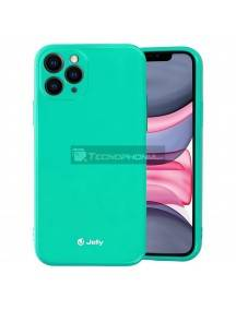 Funda TPU Jelly iPhone 12 - 12 Pro menta