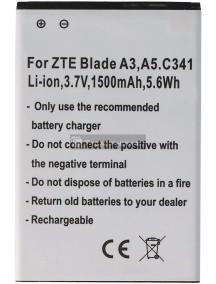 Batería ZTE Blade A3 - A5 - C341