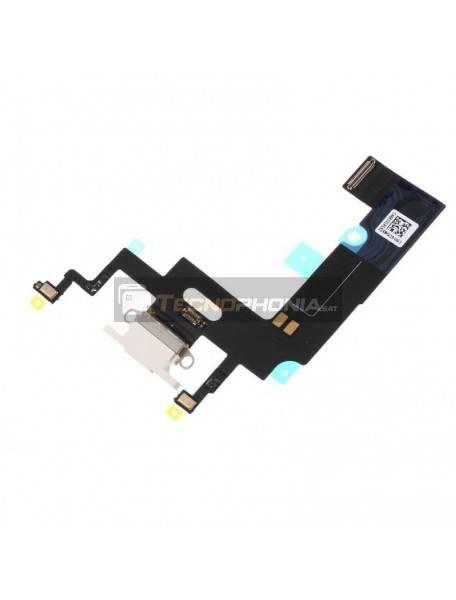 Cable flex de conector de carga - accesorios iPhone XR blanco