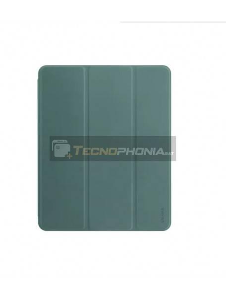 "Funda libro Usams US-BH589 para Apple iPad Pro 2020 12.9"" verde oscura"