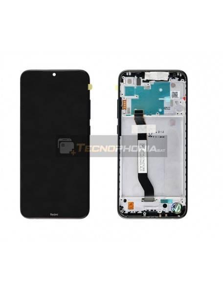 Pantalla LCD Display Xiaomi Redmi Note 8 Negro (Service Pack)