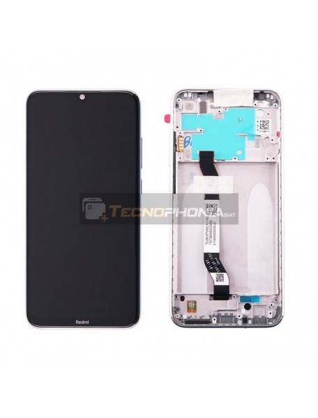 Pantalla LCD Display Xiaomi Redmi Note 8 blanco (Service Pack)