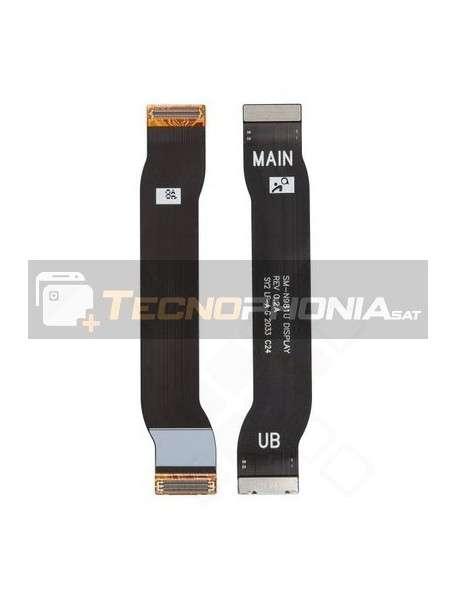 Cable flex de pantalla LCD display a placa Samsung Galaxy Note 20 N980 - N981