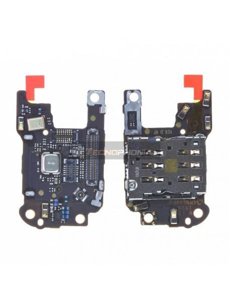 Placa de lector de SIM + micrófono Huawei P30 Pro