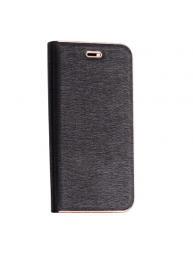 Funda libro Vennus Xiaomi Mi 10 Lite 5G negra