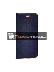 Funda libro Vennus Xiaomi Redmi Note 9 azul
