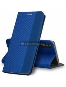 Funda libro TPU Vennus Sensitive Xiaomi Redmi Note 9 azul