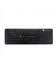 Teclado bluetooth inalámbrico Coolbox con touchpad 24ghz