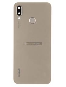 Tapa de batería Huawei P20 Lite dorada