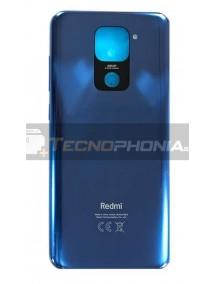 Tapa de batería Xiaomi Redmi Note 9 azul original (Service Pack)