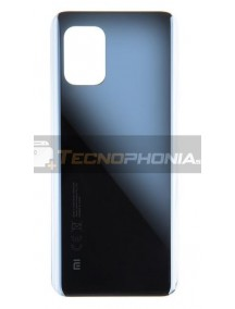 Tapa de batería Xiaomi Mi 10 Lite 5G negra - gris original (Service Pack)