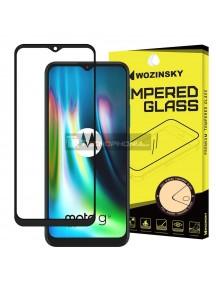 Lámina de cristal templado Full Glue 5D Wozinsky Motorola Moto G9 Play - Moto E7 Plus