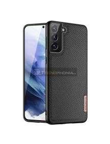 Funda TPU Dux Ducis Fino Samsung Galaxy S21 Plus G996 Nylon negra