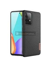 Funda TPU Dux Ducis Fino Samsung Galaxy A32 A326 Nylon negra