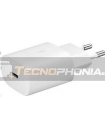 Cargador rápido Type C Samsung EP-TA800NWE 25W 9A