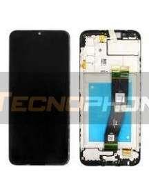 Pantalla LCD display Samsung Galaxy A02s A025 original (Service Pack)
