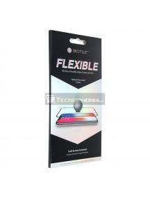 Lámina de cristal templado Flexible Nano Glass 5D Full Glue Huawei P30 Lite negro