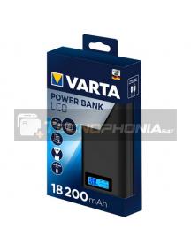 Power Bank con LCD Varta 18200mAh