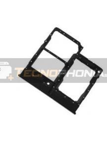 Zócalo de sim + micro SD Samsung Galaxy A31 A315 negro